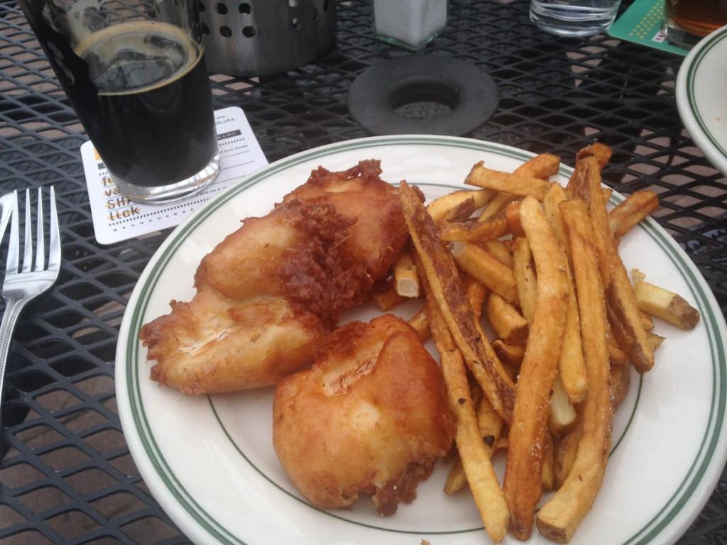 Ward 6 fish and chips